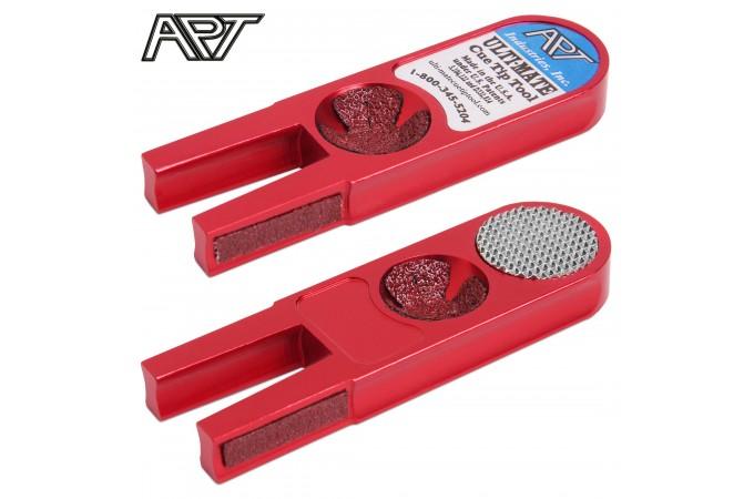 Инструмент для обработки наклейки Ulti-Mate Cue Tip Tool красный