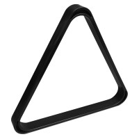 Треугольник для русского бильярда УСИЛЕННЫЙ пластик черный ø60,3мм