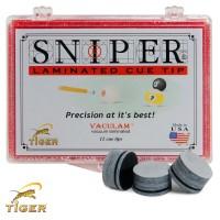 Наклейка для кия Tiger Sniper ø13мм Medium/Hard 1шт.