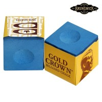 Мел Brunswick Gold Crown Blue 1шт.